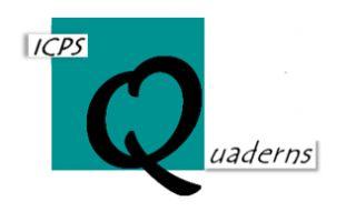 """Número 16 de la colección Quaderns de l'ICPS """"Cataluña: ¿Una sociedad dividida por la mitad?. El efecto del contexto entre los no nacionalistas"""""""