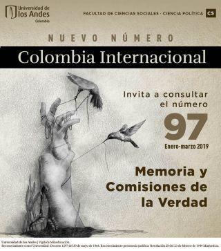 Último número Colombia Internacional. Universidad de los Andes