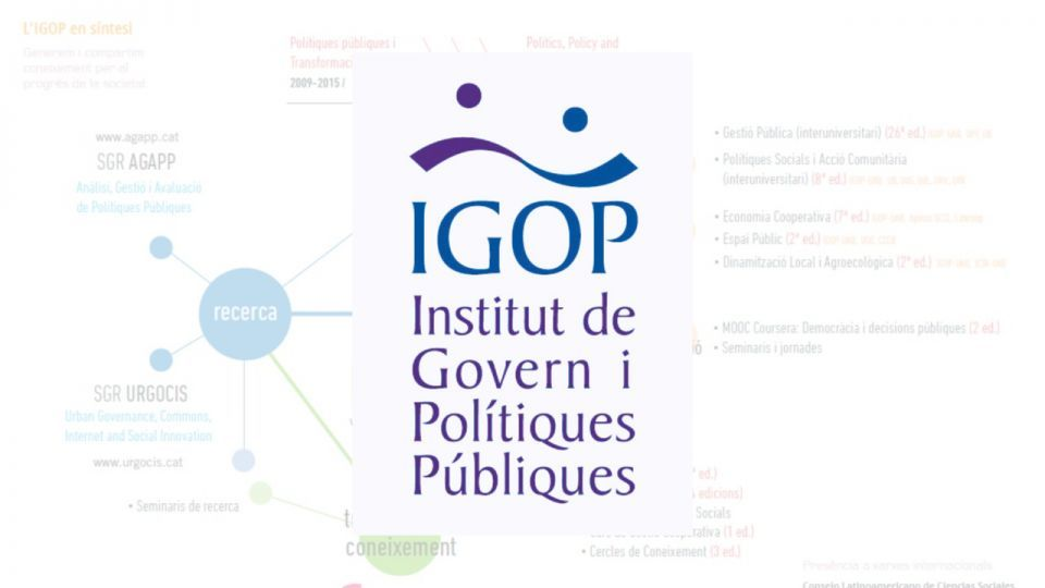 Newsletter #126 Març 2019. Institut de Govern i Polítiques Públiques (IGOP)