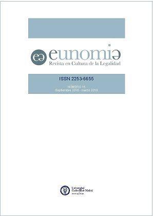 Call for Papers de la Revista Eunomia