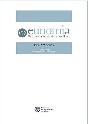 Call for Papers de la Revista Eunomia