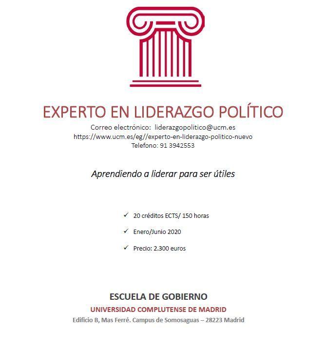 Experto en Liderazgo Político - UCM
