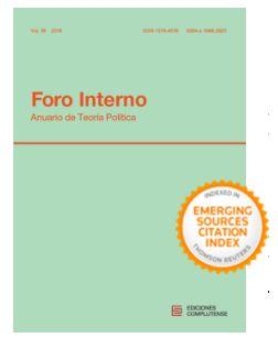 Petición de artículos - Call for papers Foro Interno Anuario de Teoría Política