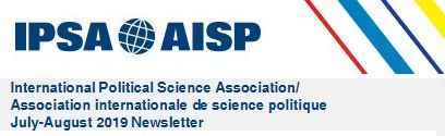 [IPSA Newsletter] July-August 2019