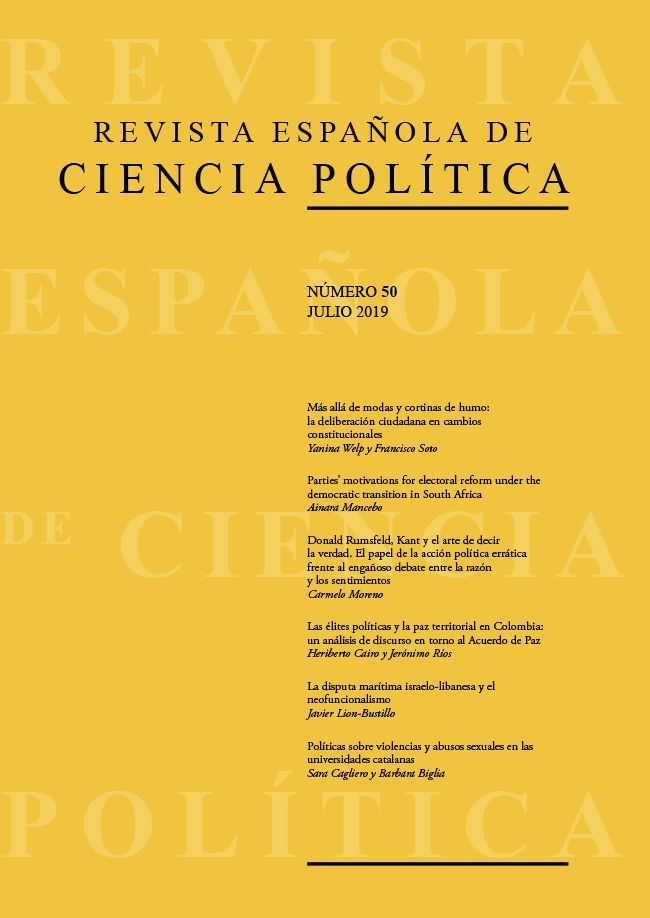 ¡DISPONIBLE YA EL Nº 50 (JULIO DE 2019) DE LA RECP! - NOW AVAILABLE RECP, ISSUE 50 (JULY 2019)!