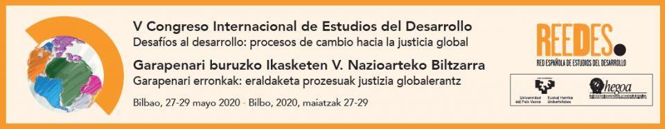 V Congreso Internacional de Estudios del Desarrollo: llamada a resúmenes