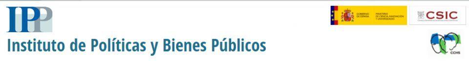 Seminario del Instituto de Políticas y Bienes Públicos (IPP-CSIC) - 6 Nov.