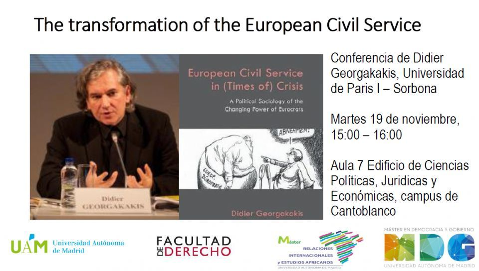 Conference: The transformation of the European Civil Service