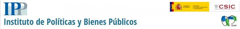 Seminarios del Instituto de Políticas y Bienes Públicos (IPP-CSIC) - 13,15 y 18 Nov.