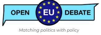 Ayudas de viaje para jóvenes investigadores al taller de OpenEUdebate en la conference del Standing Group on the EU de ECPR - Roma, 3 junio