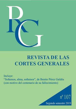 Revista de las Cortes Generales - número 107