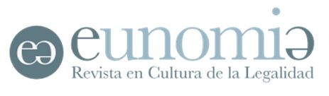 Call for papers para Eunomía. Revista en Cultura de la Legalidad