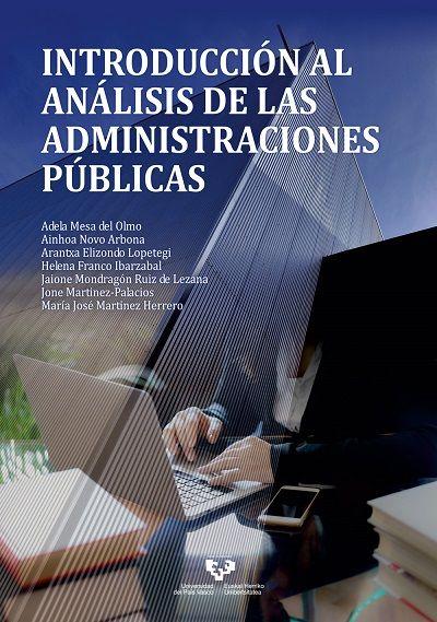 """Nueva publicación: """"Introducción al análisis de las administraciones públicas"""""""