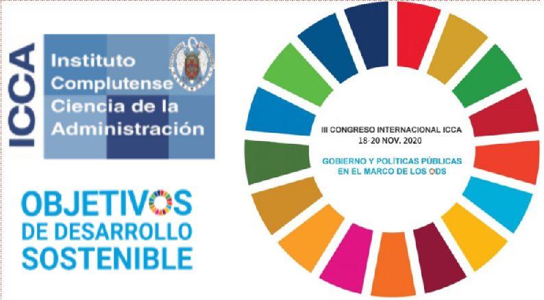 III Congreso Internacional del ICCA sobre Gobierno y Políticas Públicas en el marco de los ODS - 18-20 Nov.