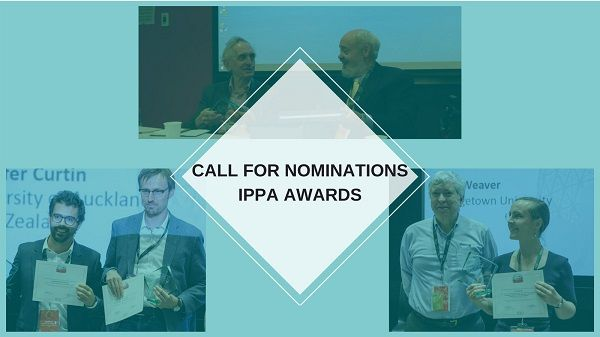 The Call for Nominations for the IPPA Awards in four categories is open