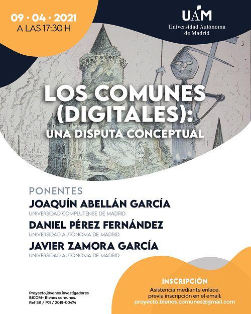 """Seminario online: """"Los comunes (digitales): una disputa conceptual"""" - 9 de abril"""