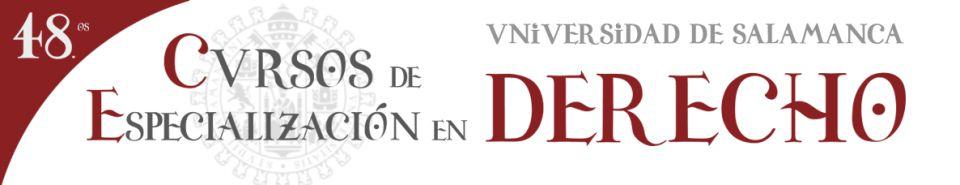 Cursos de Especialización en Derecho - USAL