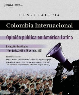Revista Colombia Internacional - Convocatoria