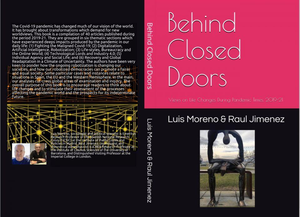 Nueva publicación: 'Behind closed doors: Views on Life Changes During Pandemic Times, 2019-21' (Moreno & Jimenez)