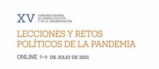 ¡Publicada la Agenda y las sesiones de Grupos de Trabajo del XV Congreso AECPA!