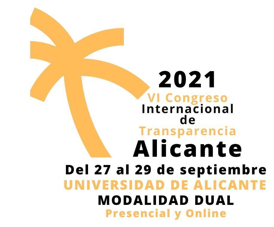 VI Congreso Internacional de Transparencia de la Universidad de Alicante