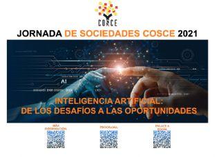Jornada de Sociedades COSCE 'Inteligencia Artificial: de los desafíos a las oportunidades'